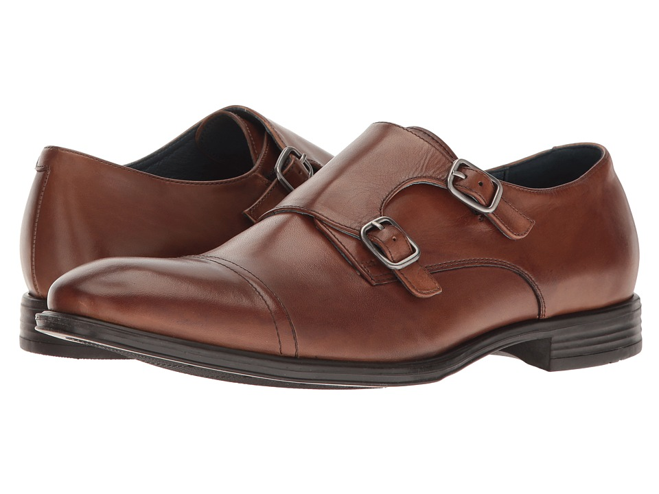 RUSH by Gordon Rush - Lewis (Cognac) Men's Shoes