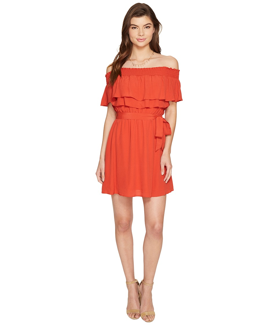 Lovers + Friends - Suntime Dress (Red) Women's Dress