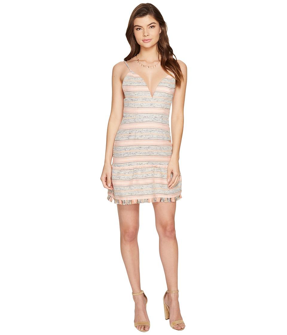 Lovers + Friends Heidi Mini Dress (Multi Stripe) Women