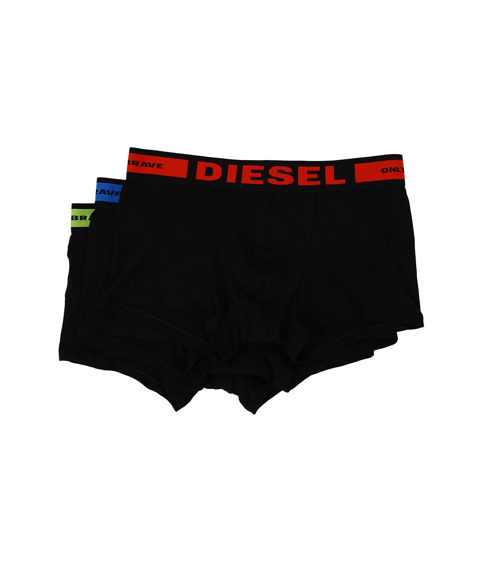 Diesel - Shawn 3-Pack Trunk BAOF (Black) Men's Underwear
