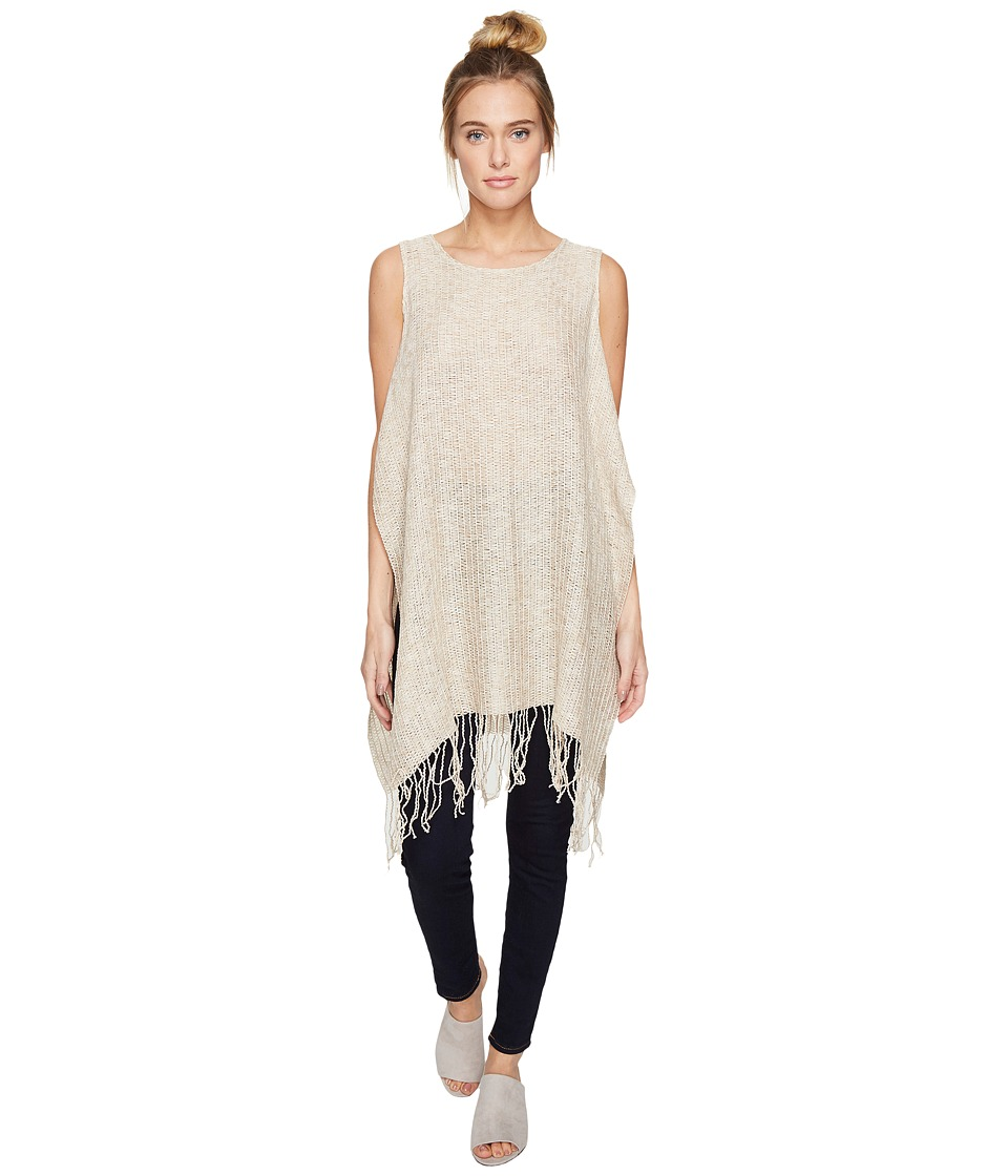 BCBGeneration - Daydreamer Poncho (Bisque) Women's Clothing