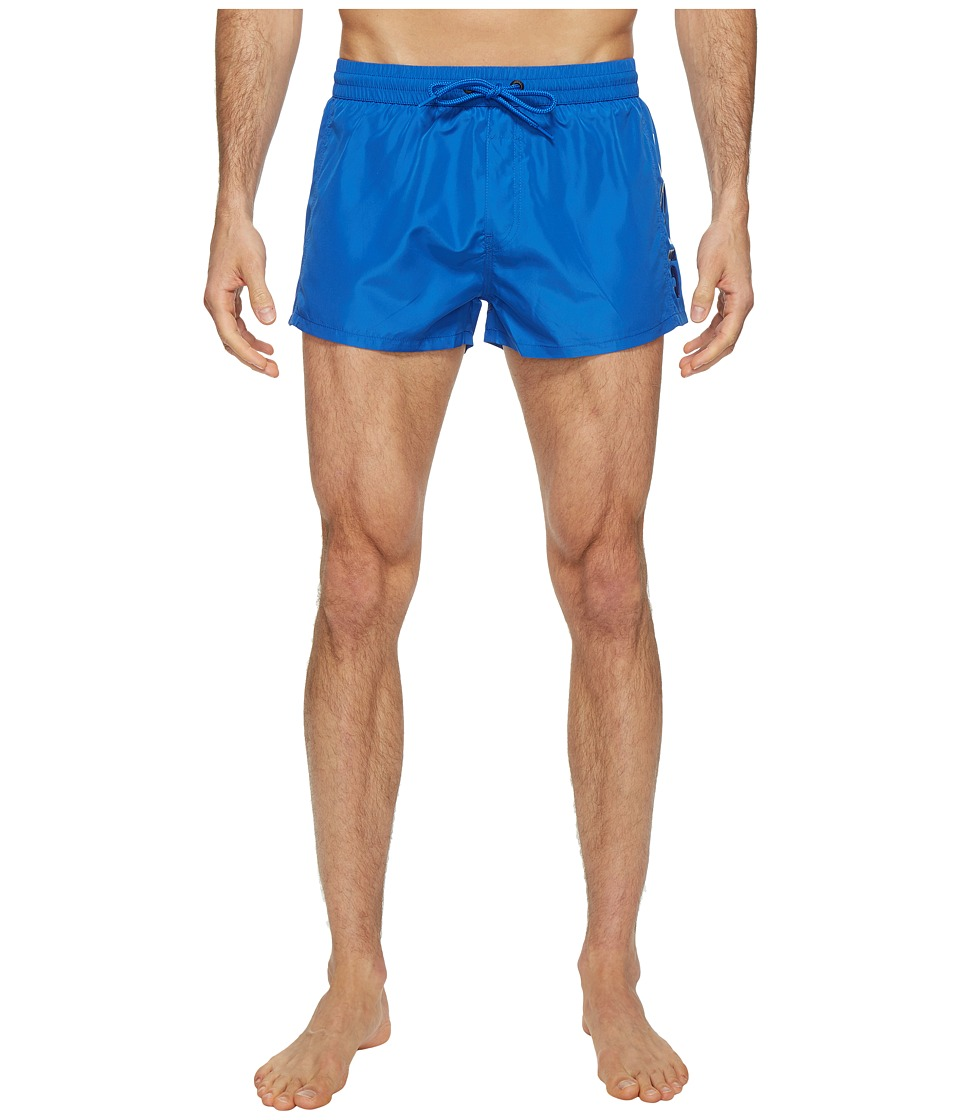 Diesel Sandy Quick Dry Light Microfiber 2 in Swim Shorts w/ Diesellogo KAKV (Royal Blue) Men