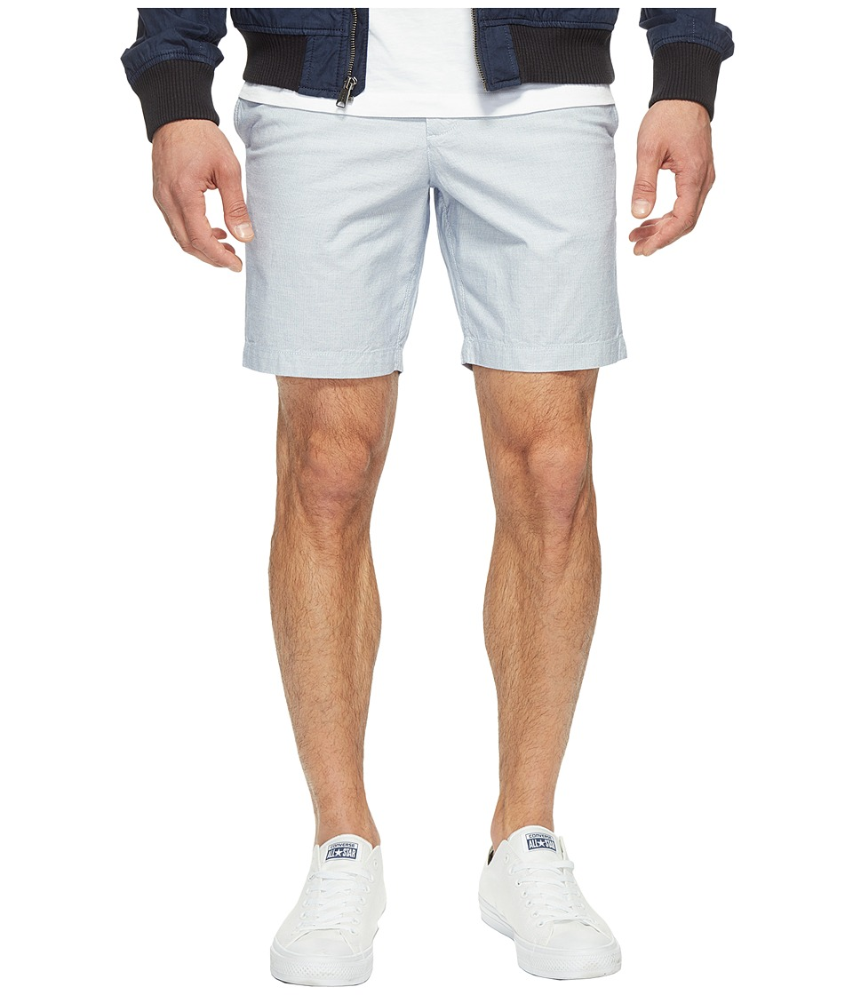 Original Penguin P55 8 Basket Weave Shorts (Diva Blue) Men