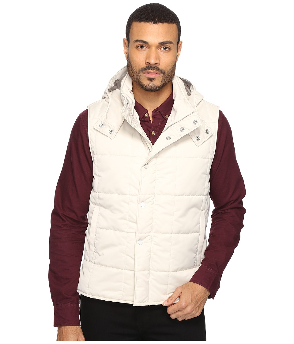 Exley NB - Quilted Vest (Cement) Men's Vest