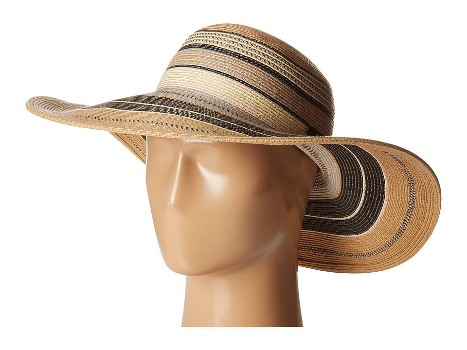 Vince Camuto - Striped Floppy (Natural) Caps