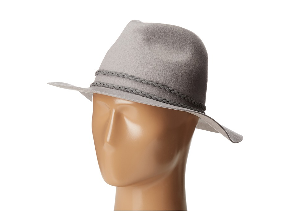 Michael Stars - Beach Braid Fedora (Crescent) Fedora Hats