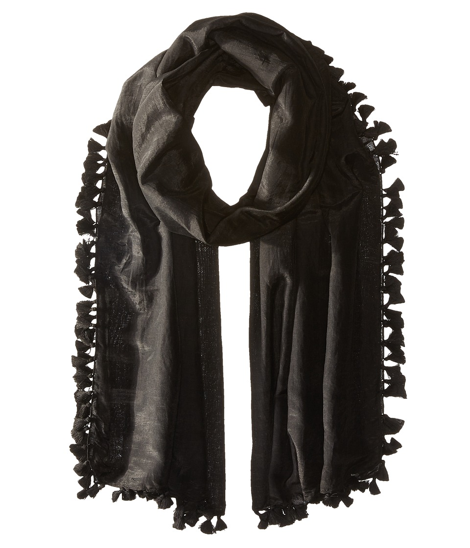 Michael Stars - Silky Solid Scarf (Black) Scarves