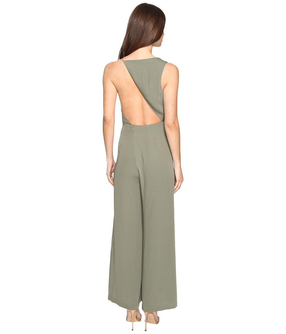 KEEPSAKE THE LABEL - Without You Jumpsuit (Olive) Women's Jumpsuit & Rompers One Piece