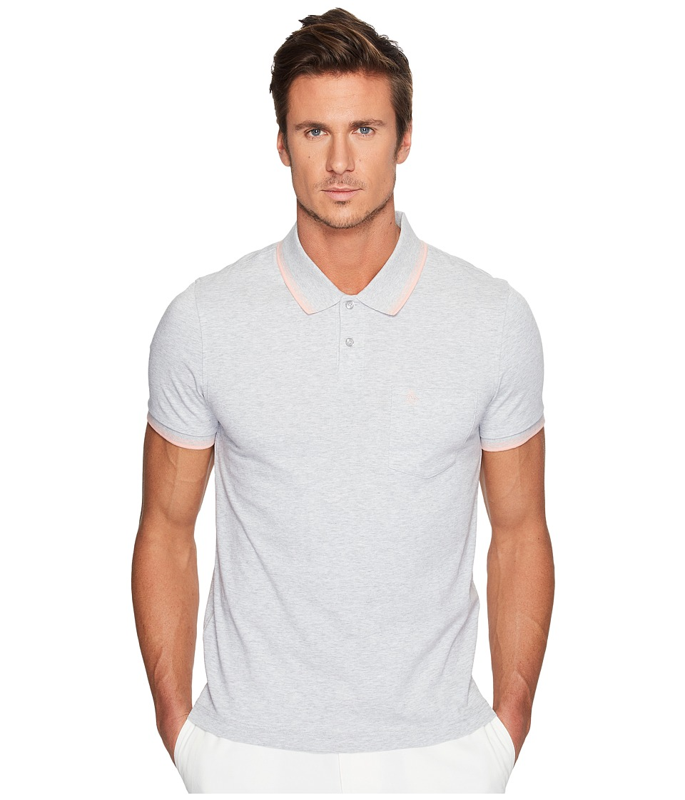 Original Penguin - Short Sleeve 56 Performance Polo (Mirage Gray) Men's Clothing
