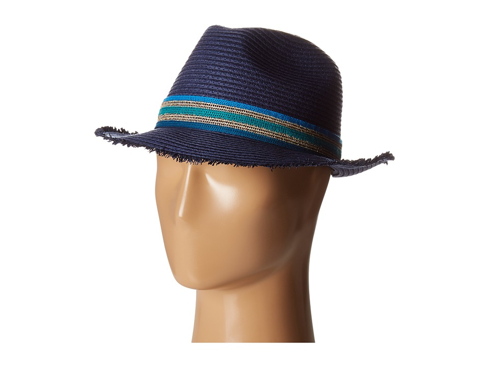 Vince Camuto - Sportif Fedora (Peacoat) Fedora Hats