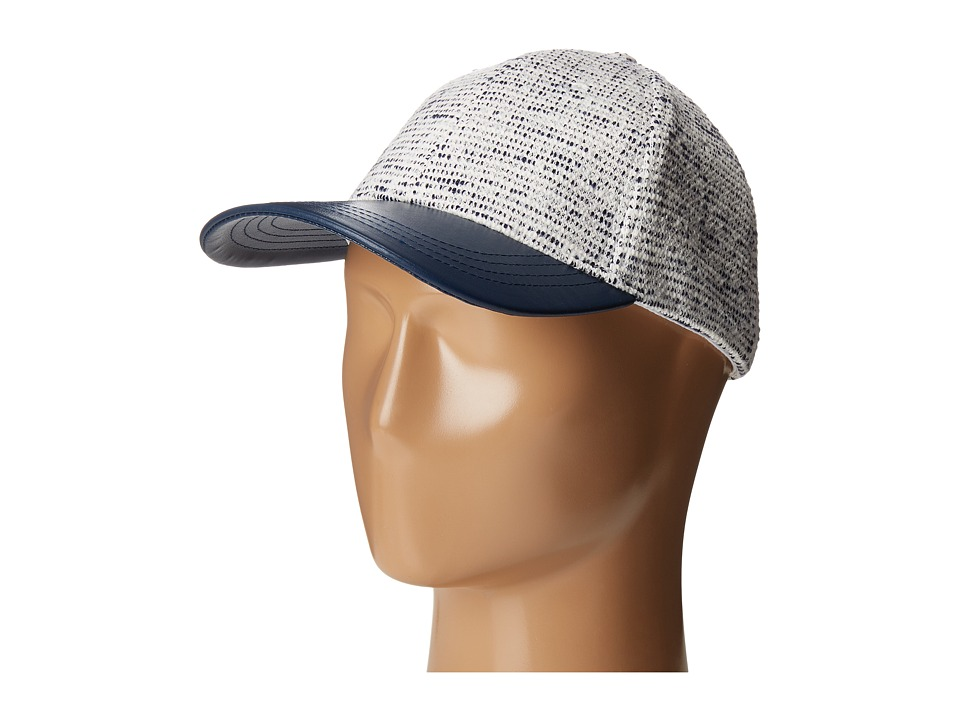 Vince Camuto - Textured Knit Baseball (Peacoat) Baseball Caps