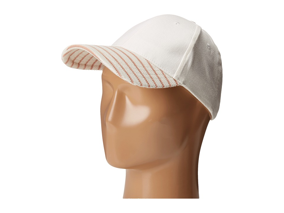 Vince Camuto - Nautical Stripe Baseball (Vanilla Ice) Baseball Caps