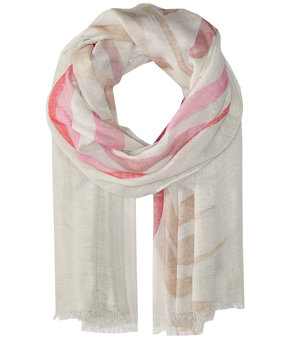 Vince Camuto - Palm Shadow Wrap (Pink) Scarves