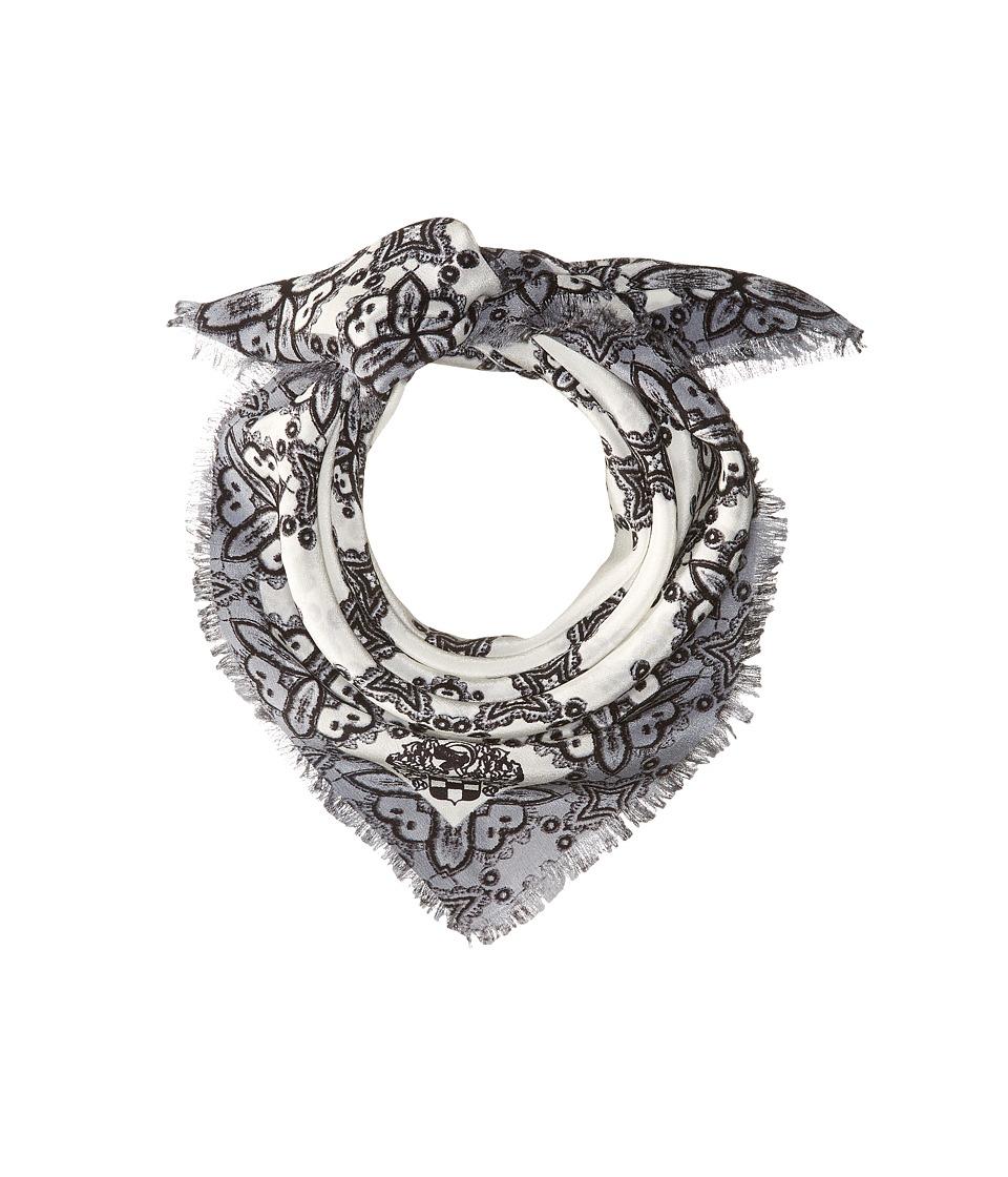 Vince Camuto - Crochet Day Bandana (Black) Scarves