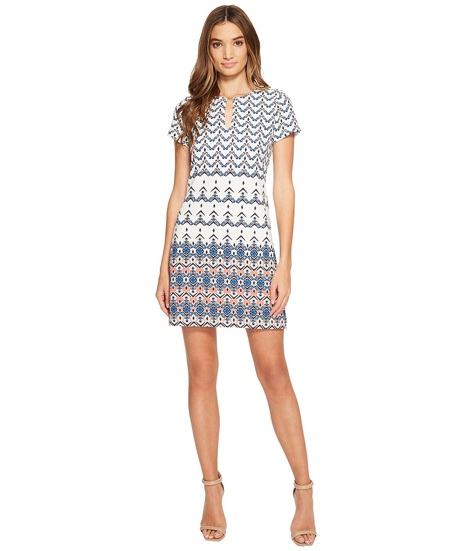 Jessica Simpson - Printed T-Shirt Dress (Print) Women's Dress