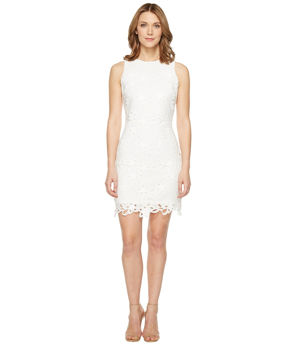 Jessica Simpson - Chemical Lace Shift Dress (Ivory) Women's Dress