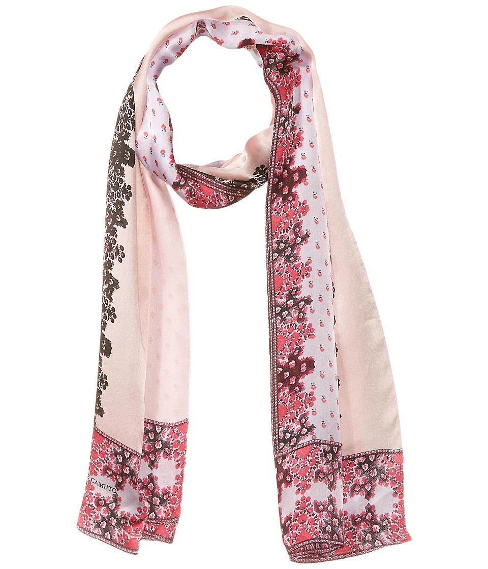 Vince Camuto - Floral Borders Oblong (Beet Pink) Scarves