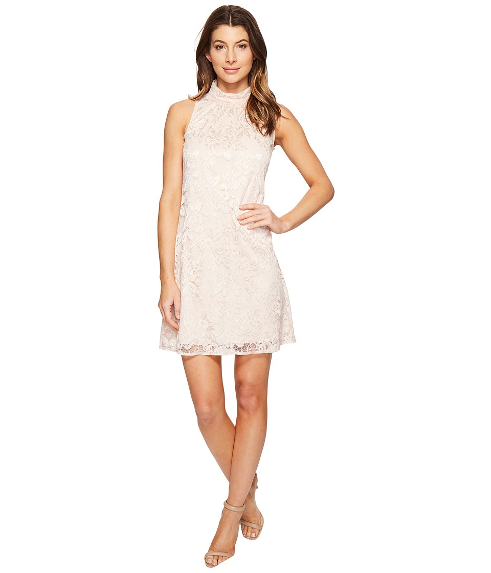 rsvp - Belmac Beaded Shift Dress (Blush) Women's Dress