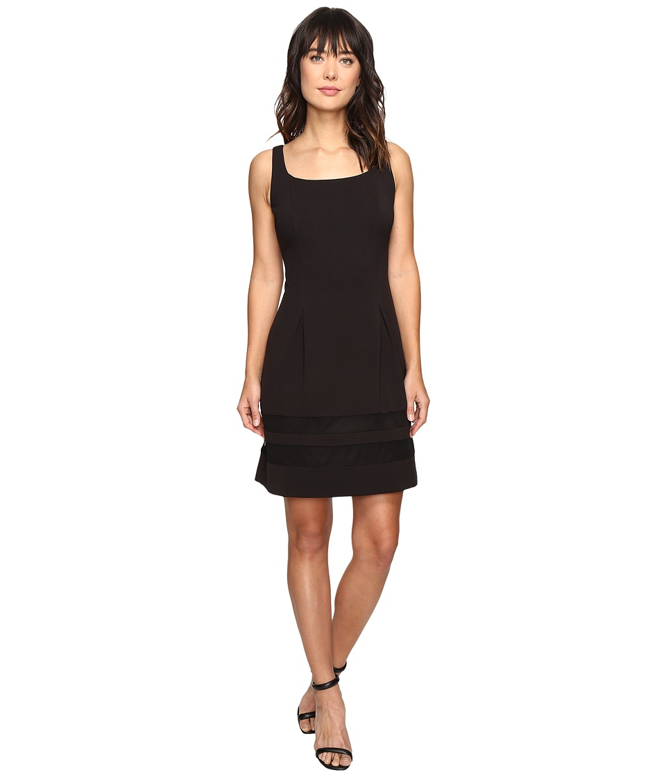 rsvp Harvest Fit and Flare Dress (Black) Women