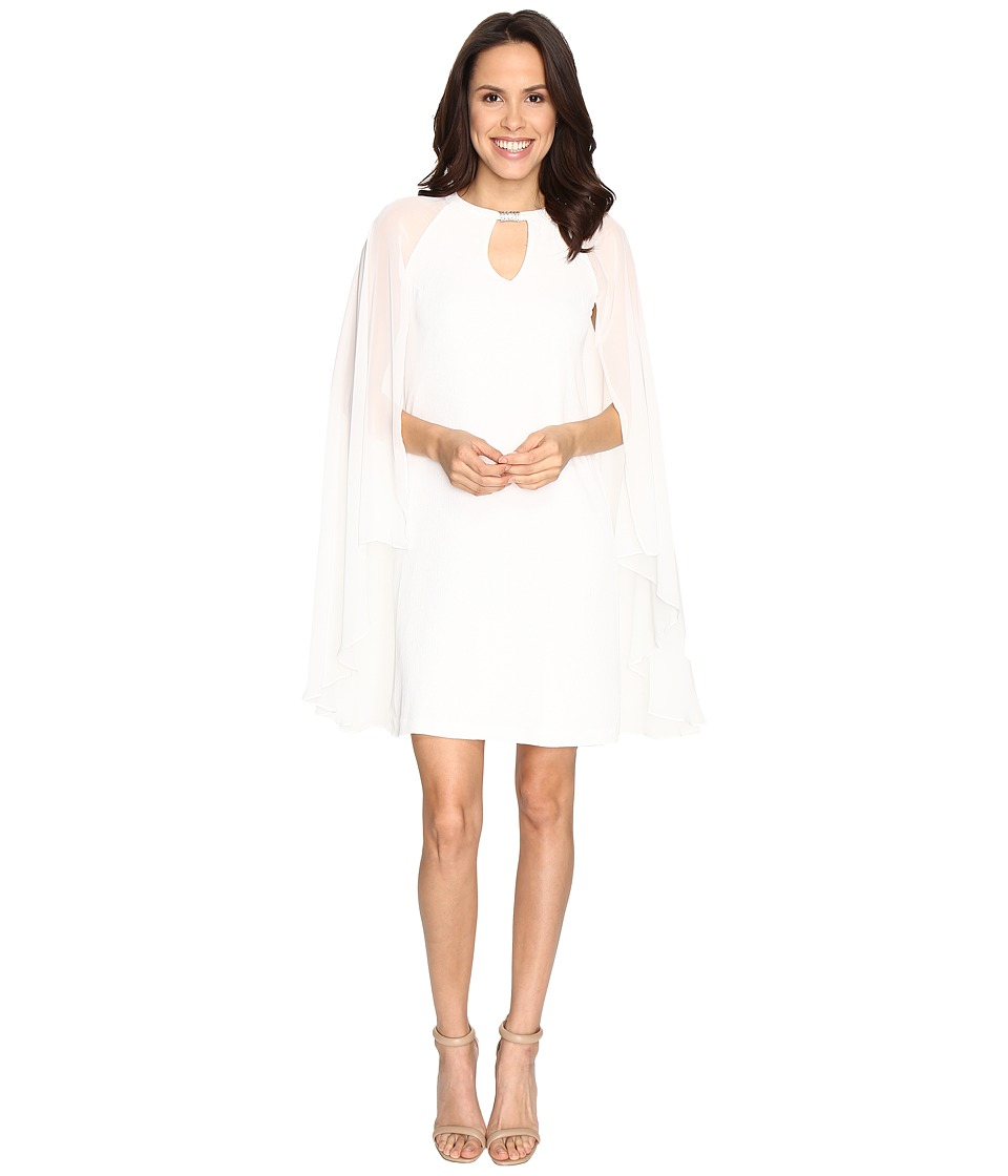 rsvp Akane Shawl Sleeve Dress (Ivory) Women
