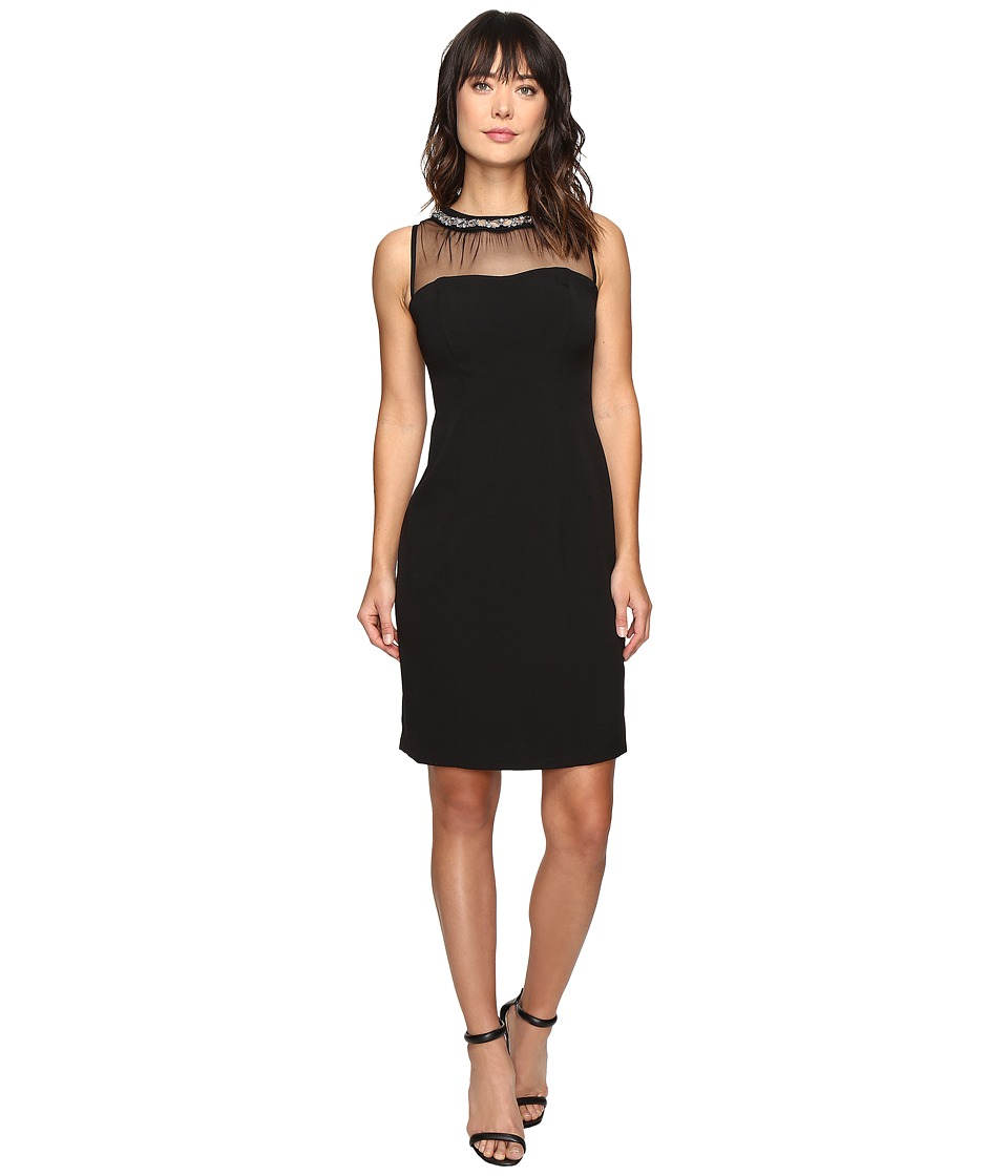 rsvp - Gala Illusion Dress (Black) Women's Dress