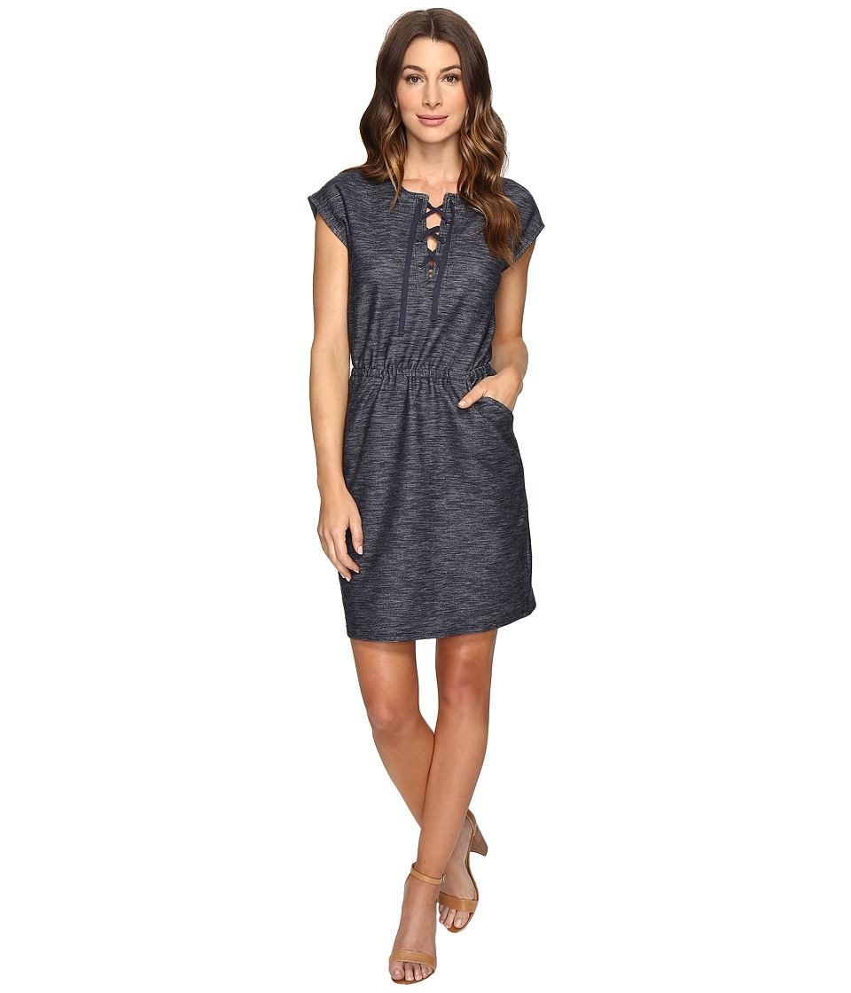 Brigitte Bailey - Alcove Lace-Up Dress (Navy) Women's Dress