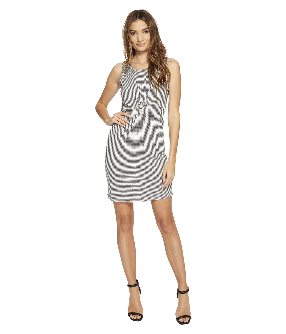 Brigitte Bailey - Annulet Ribbed Knot Dress (Heather Grey) Women's Dress