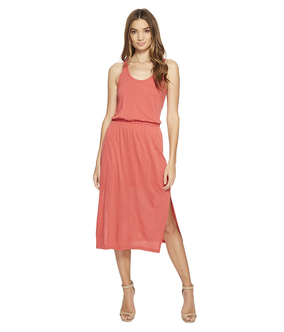 Brigitte Bailey - Anchor Midi Tank Dress w/ Knot Back (Coral) Women's Dress