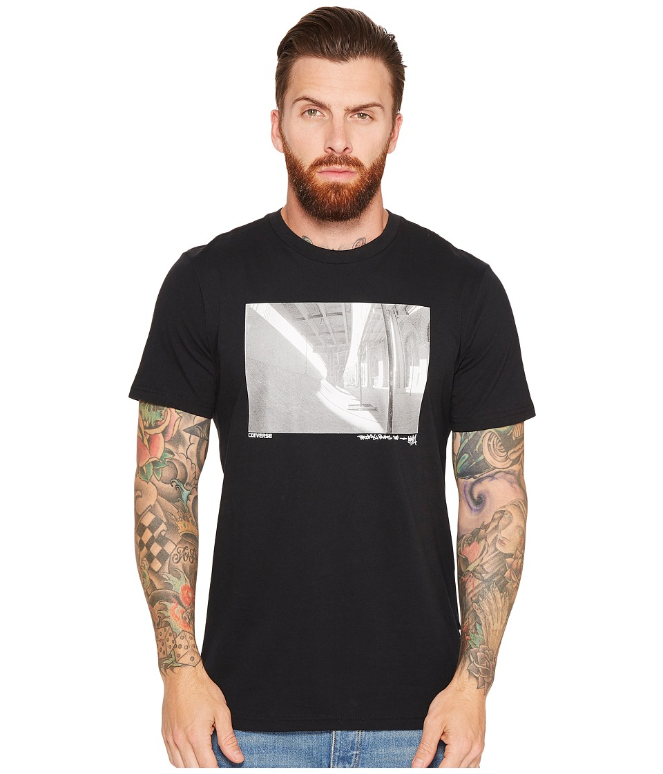 Converse - Stash Photo Tee (Black) Men's T Shirt
