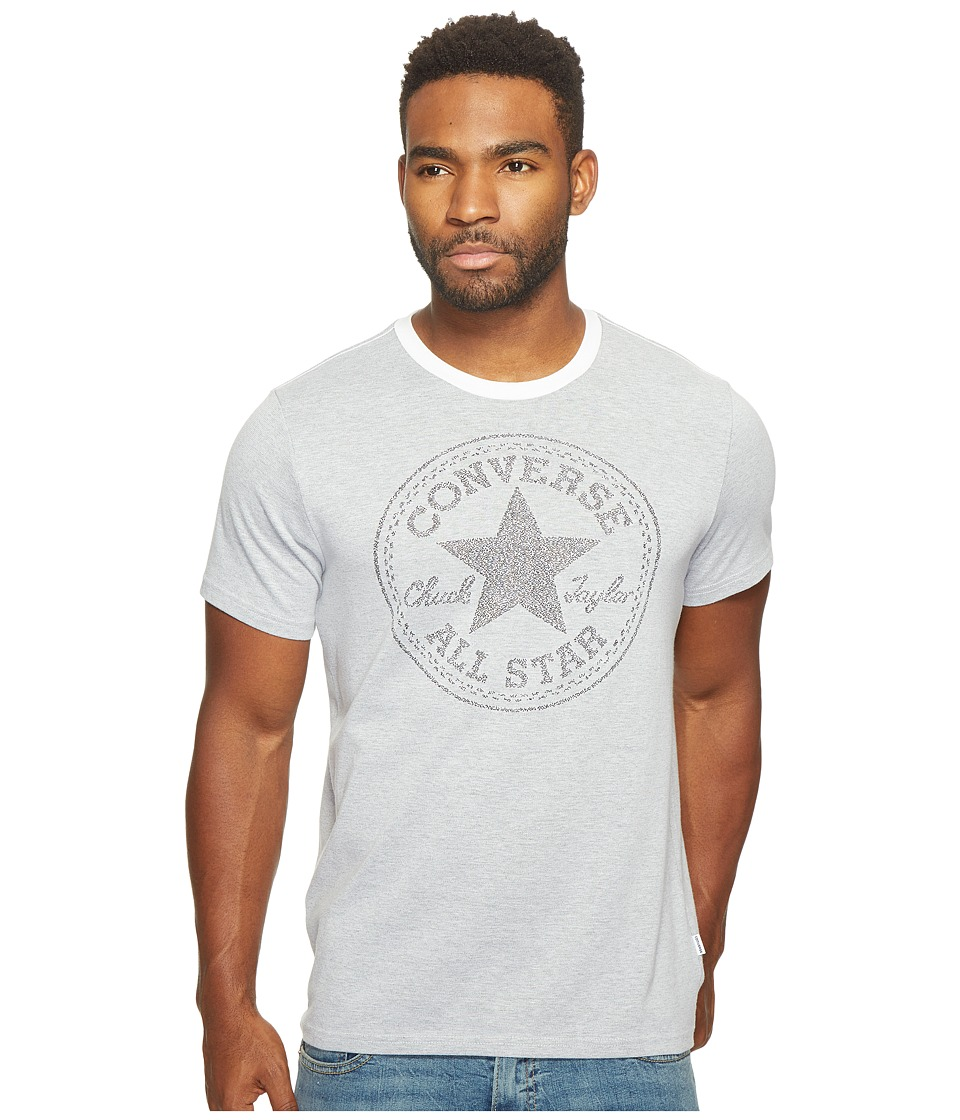 Converse - Jacquard Chuck Patch Tee (Optical White) Men's T Shirt
