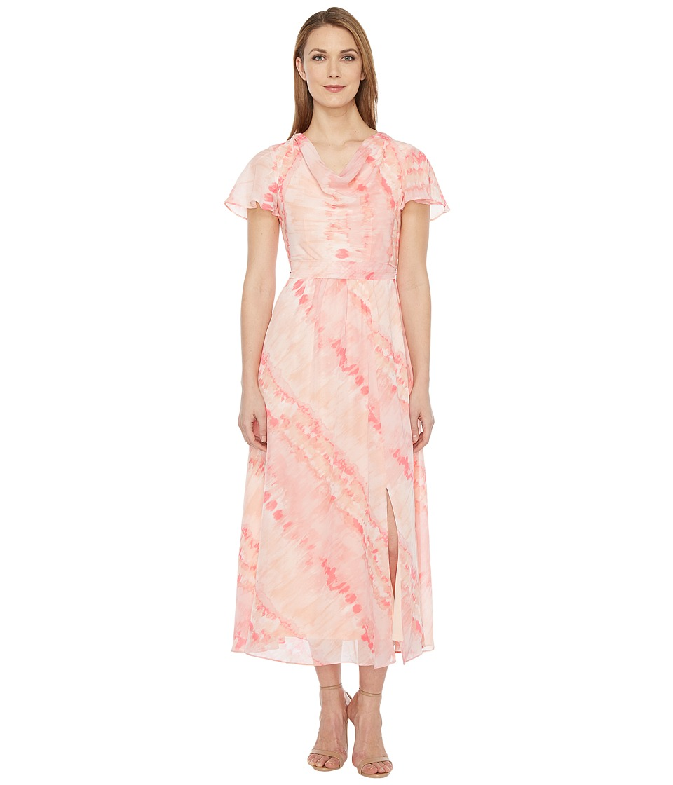 Christin Michaels Discovery High-Low Dress (Blossom) Women