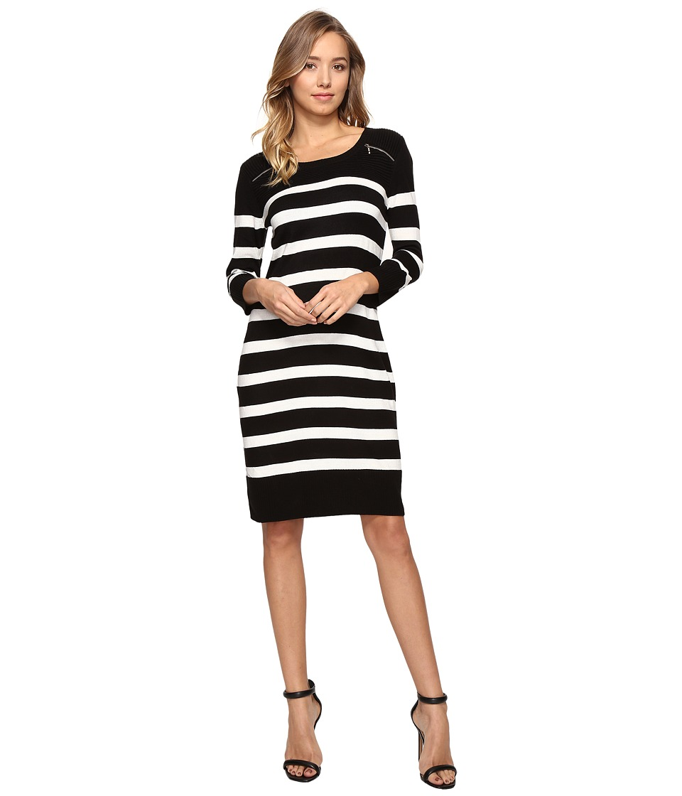 Christin Michaels Monroe Stripe Dress