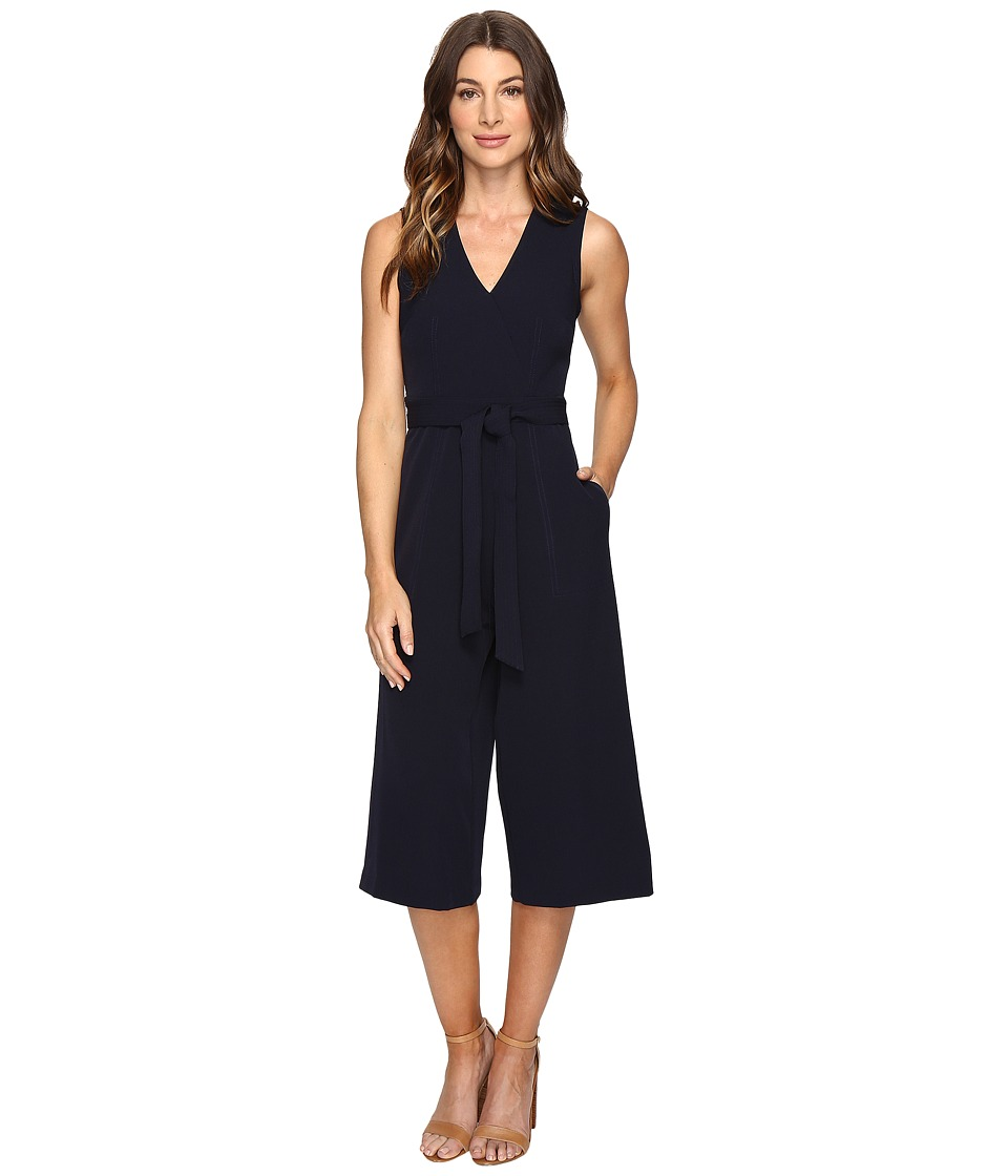 Christin Michaels - Console Romper (Navy) Women's Jumpsuit & Rompers One Piece