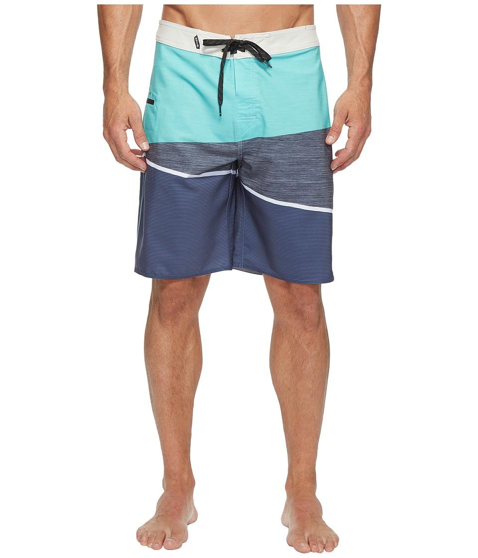 Rip Curl - Mirage Wedge Boardshorts (Navy 1) Men's Swimwear