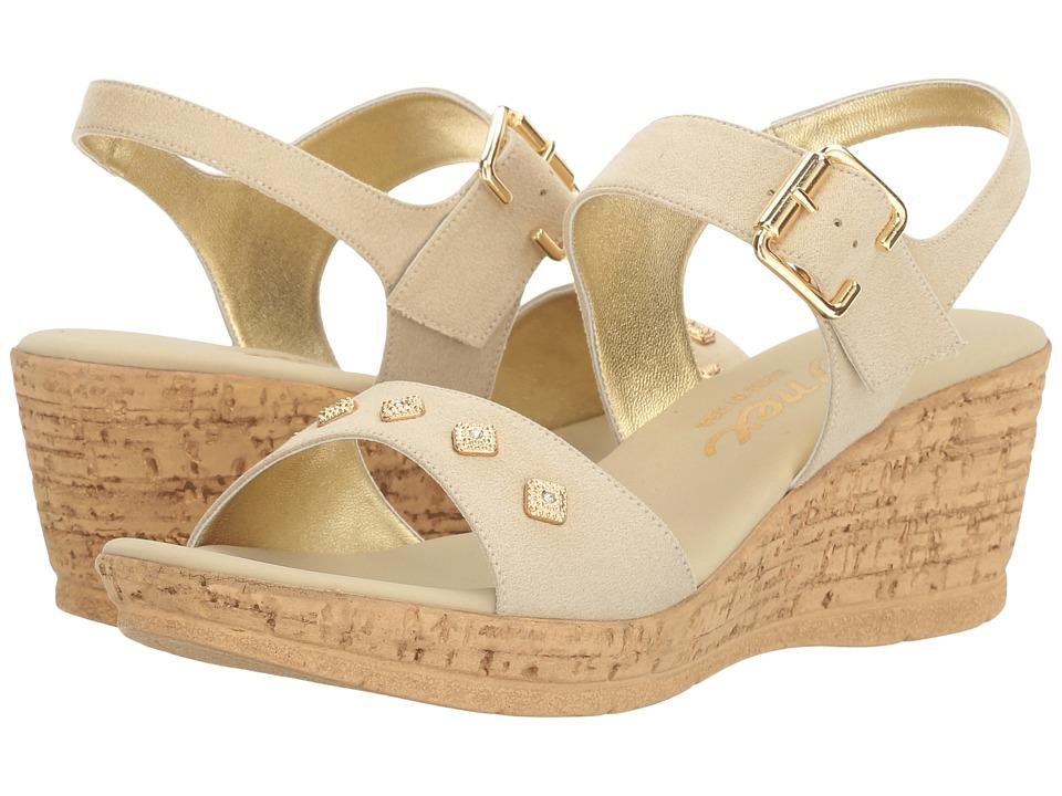 Onex - Ivette (Beige Suede) Women's Shoes