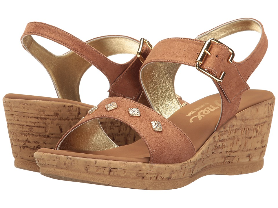 Onex - Ivette (Tan Nubuck Suede) Women's Shoes