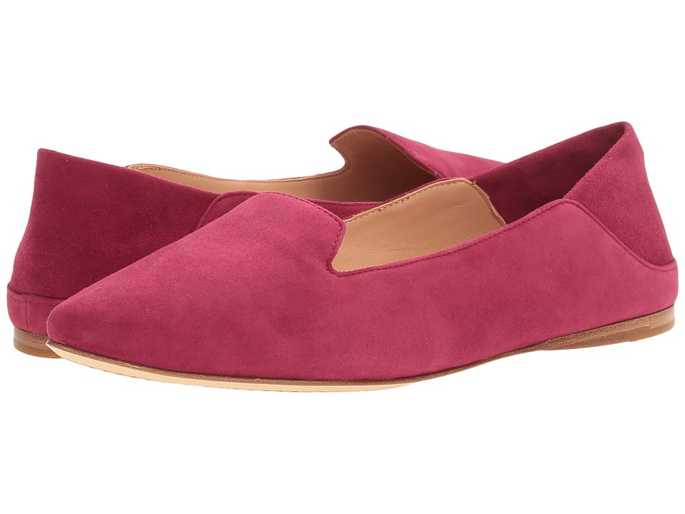 Sigerson Morrison - Valentine (Dark Red Suede) Women's Shoes