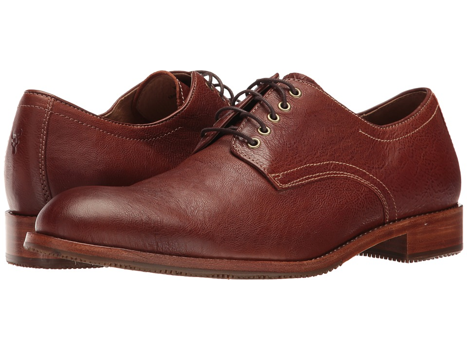 Trask - Lewis (Cognac) Men's Flat Shoes