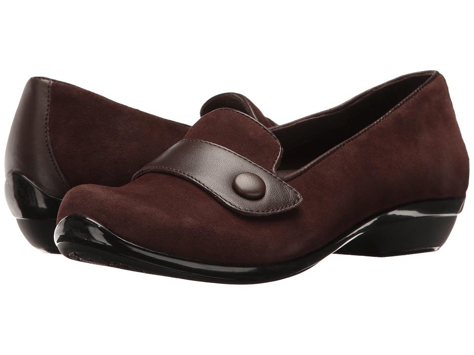 Dansko - Olena (Brown Kid Suede) Women's Shoes