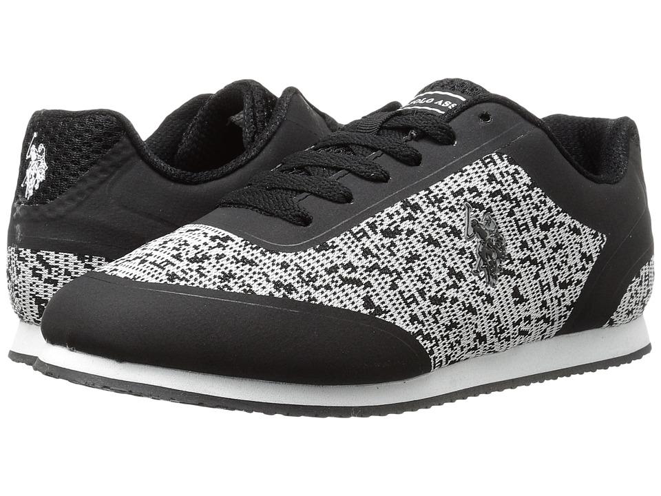 U.S. POLO ASSN. - Nancy-K (Black/Grey) Women's Shoes
