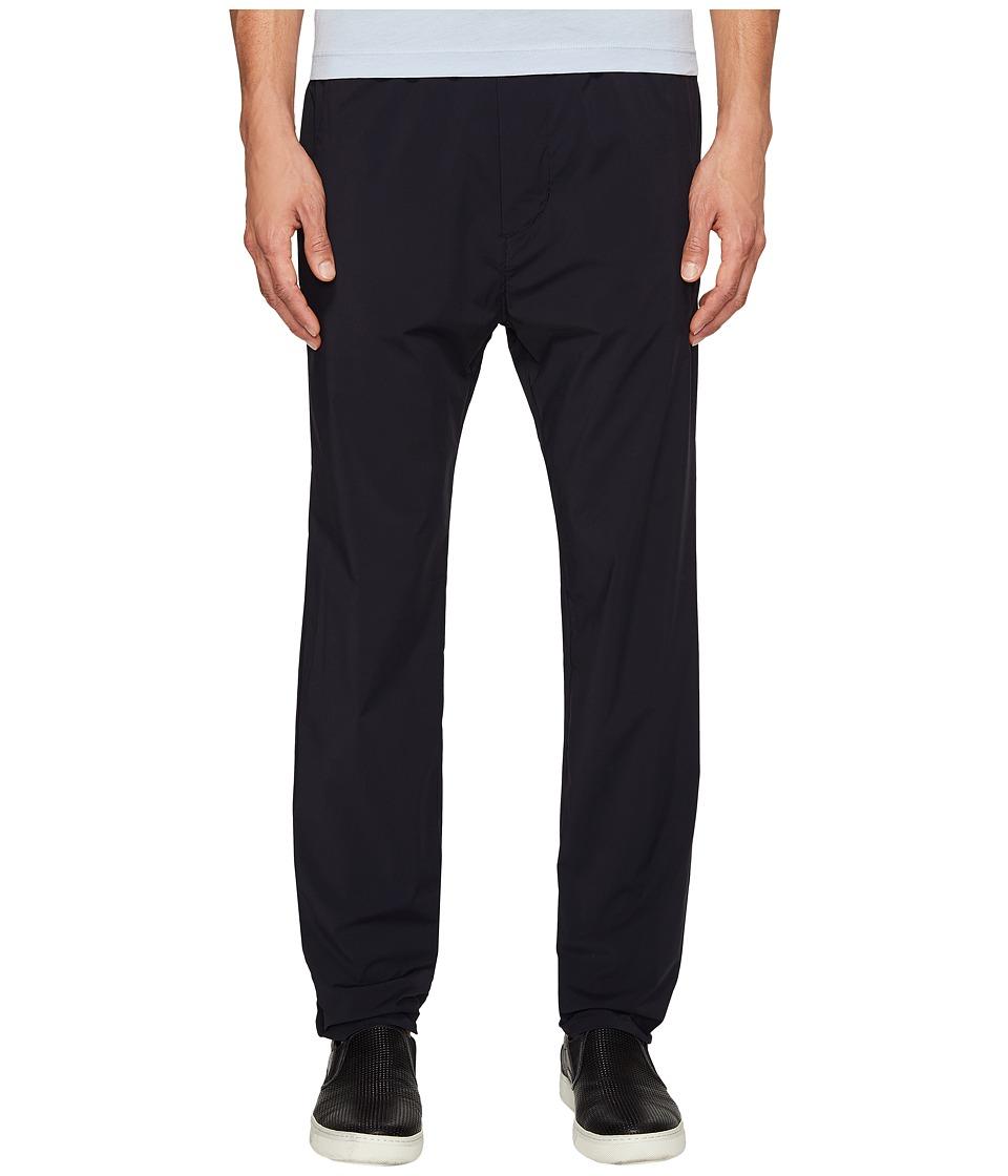 Vince - Stretch Nylon Drop Rise Pants (Black) Men's Casual Pants