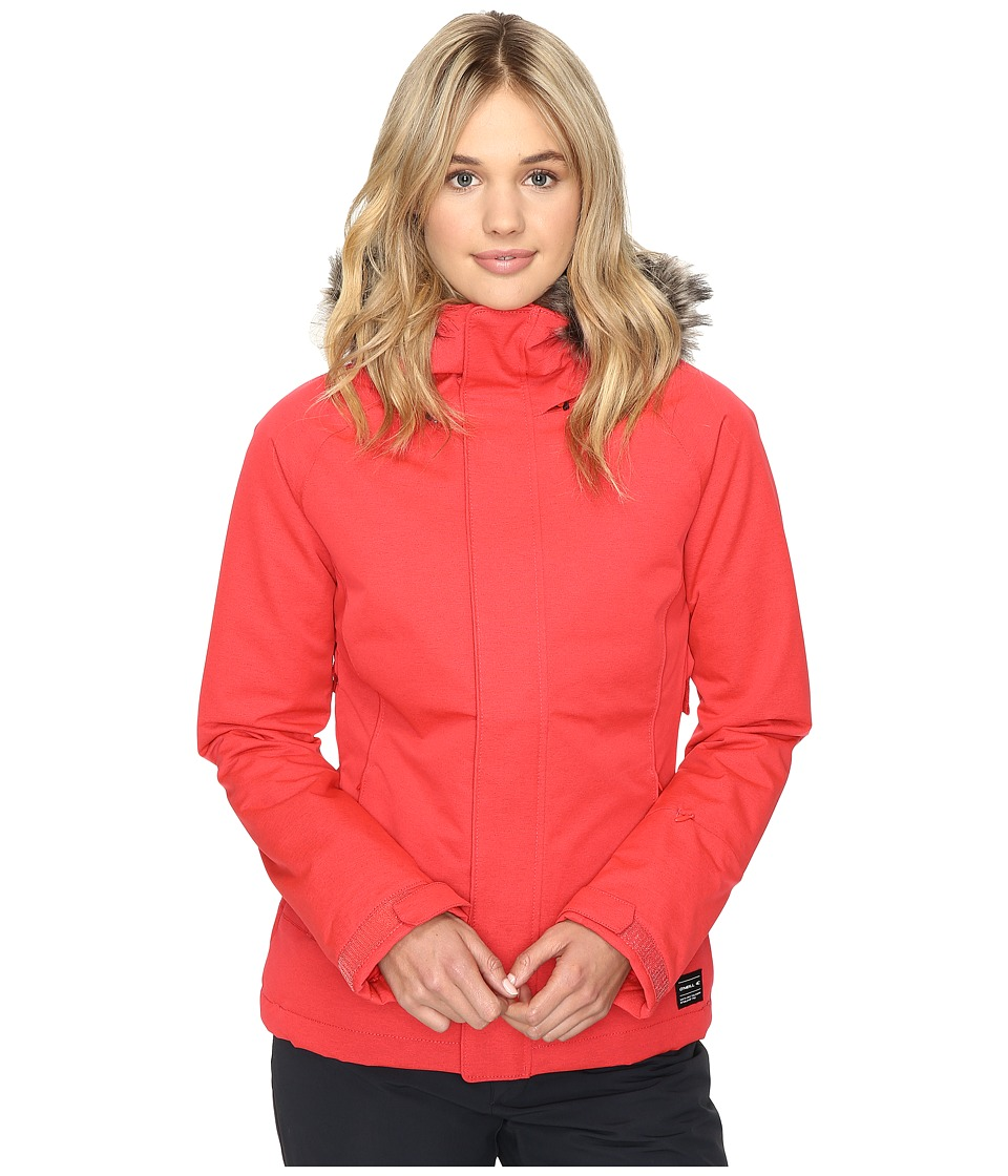 O'Neill - Curve Jacket (Poppy Red) Women's Coat