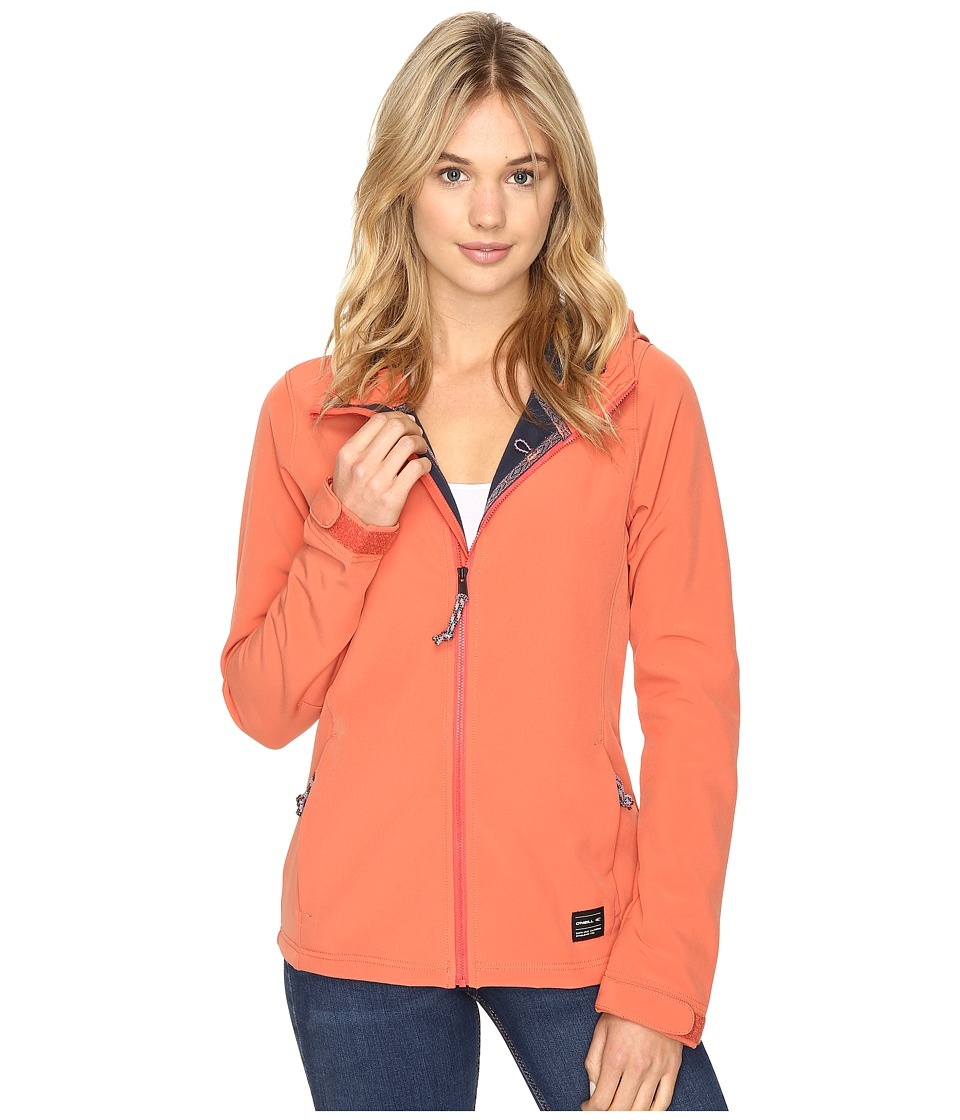O'Neill - Solo Softshell (Burnt Sienna) Women's Clothing