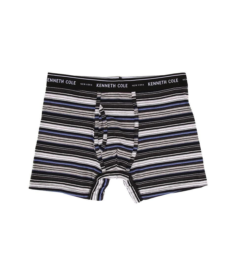 Kenneth Cole Reaction - Boxer Brief (Black Multi) Men's Underwear