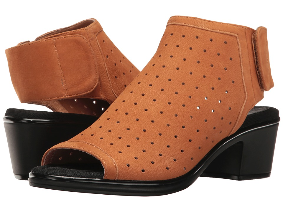 Steven - Natural Comfort - Play (Cognac Nubuck) Women's Shoes