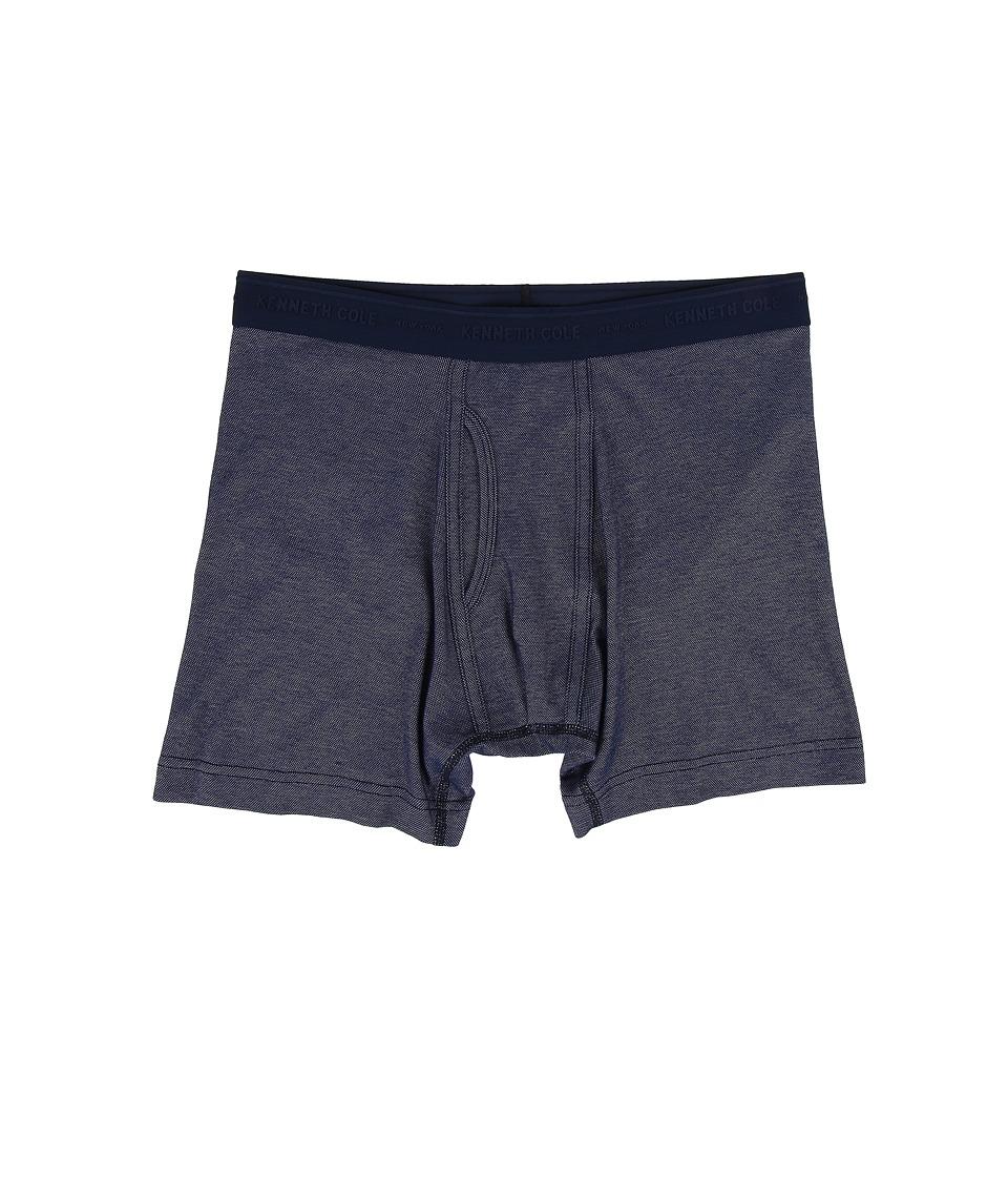Kenneth Cole Reaction - Boxer Brief (Navy) Men's Underwear