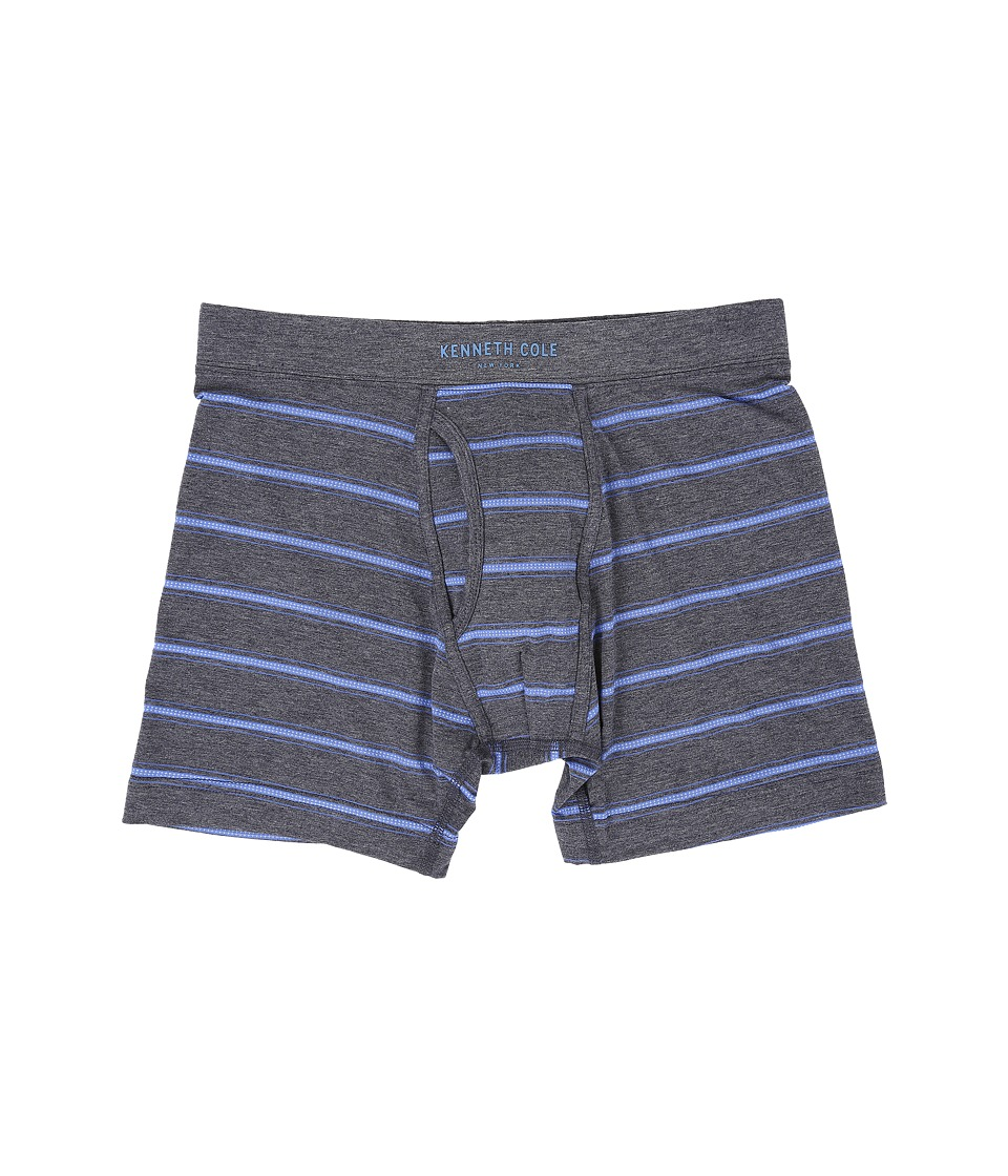 Kenneth Cole Reaction - Boxer Brief (Amparo Blue) Men's Underwear