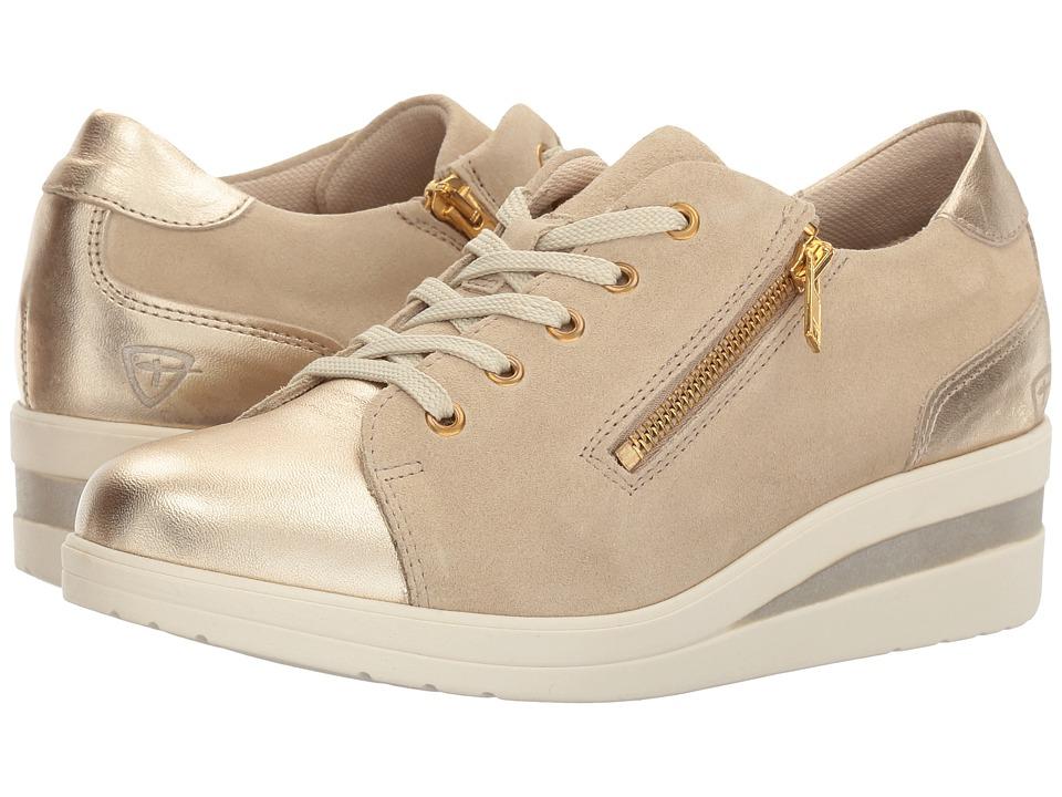 Tamaris - Barca 1-1-23315-38 (Beige/Light Gold) Women's Shoes
