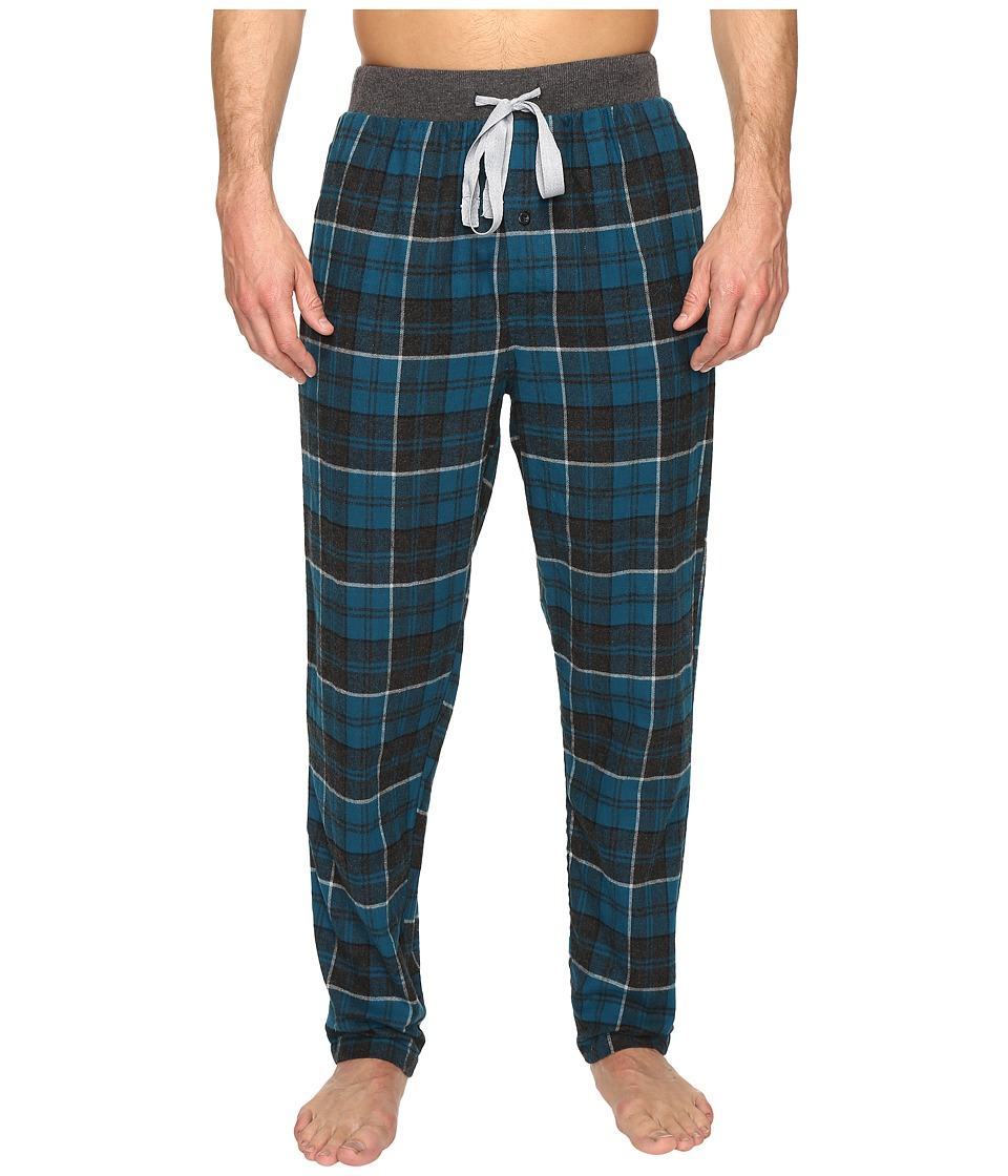 Kenneth Cole Reaction - Banded Flannel Pants (Moroccan Blue) Men's Pajama