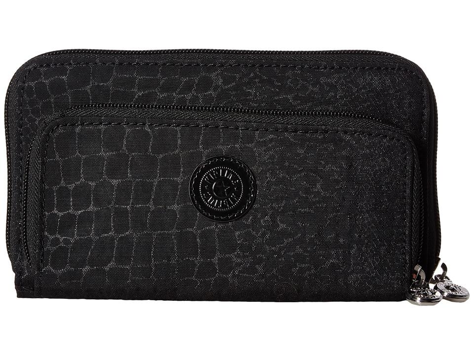 Kipling - Stella (Black Croc) Bags